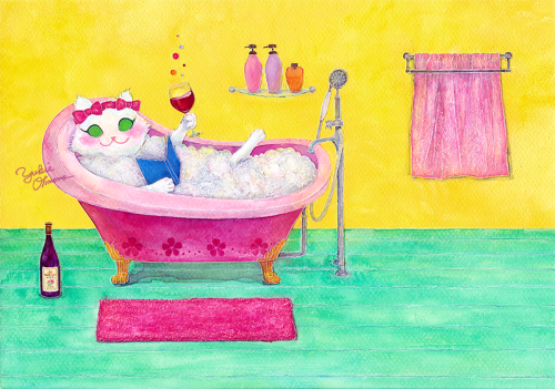 Luxurious Bath Time.