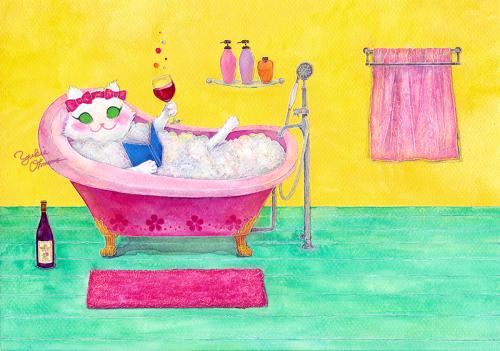 Luxurious Bath Time.