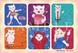 猫シリーズポストカード2